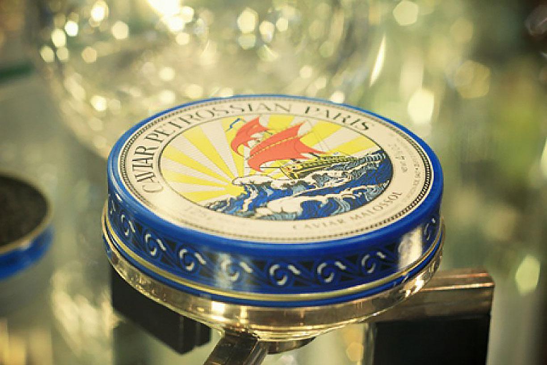 Dégustation de caviar de la Maison Pétrossian avec Priceless de Mastercard