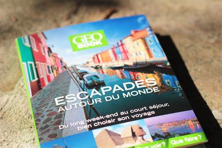 Idées voyages et escapades en France et autour du monde - Collection de livres Géo Book