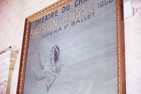 Visite du Théatre du Chatelet - Paris