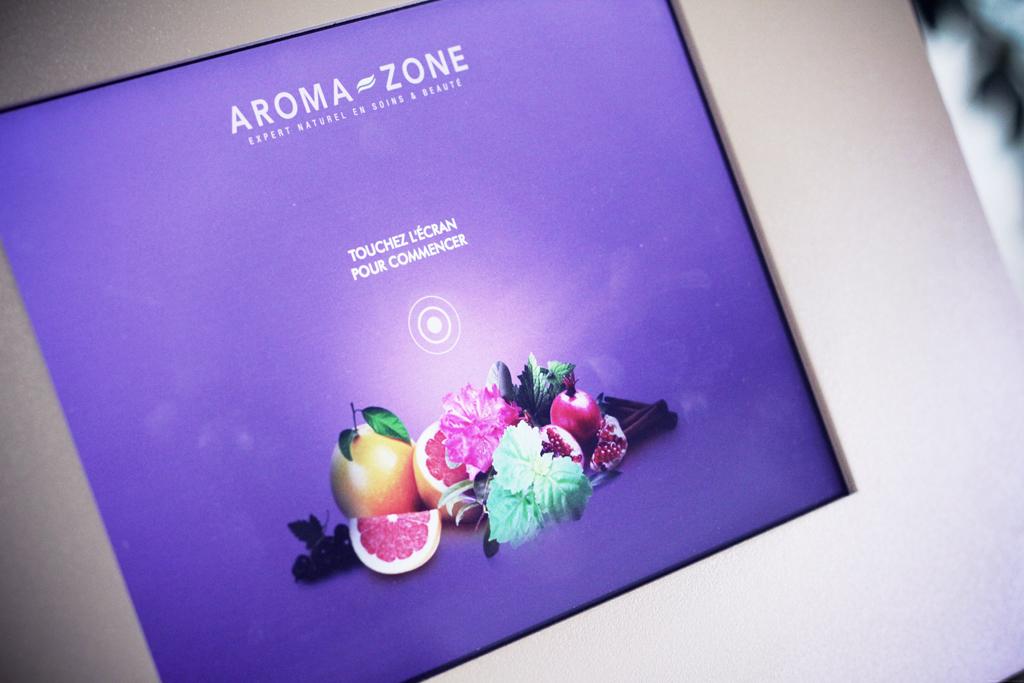 Aroma Zone, expérience multi-sensorielle