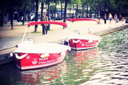 Marin d'eau douce – Location de bateaux sans permis à Paris