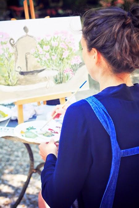Les Etangs de Corot -  Cours de peinture #3