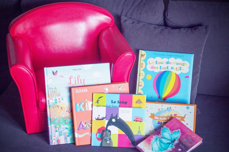 Livres jeunesse sur le voyage