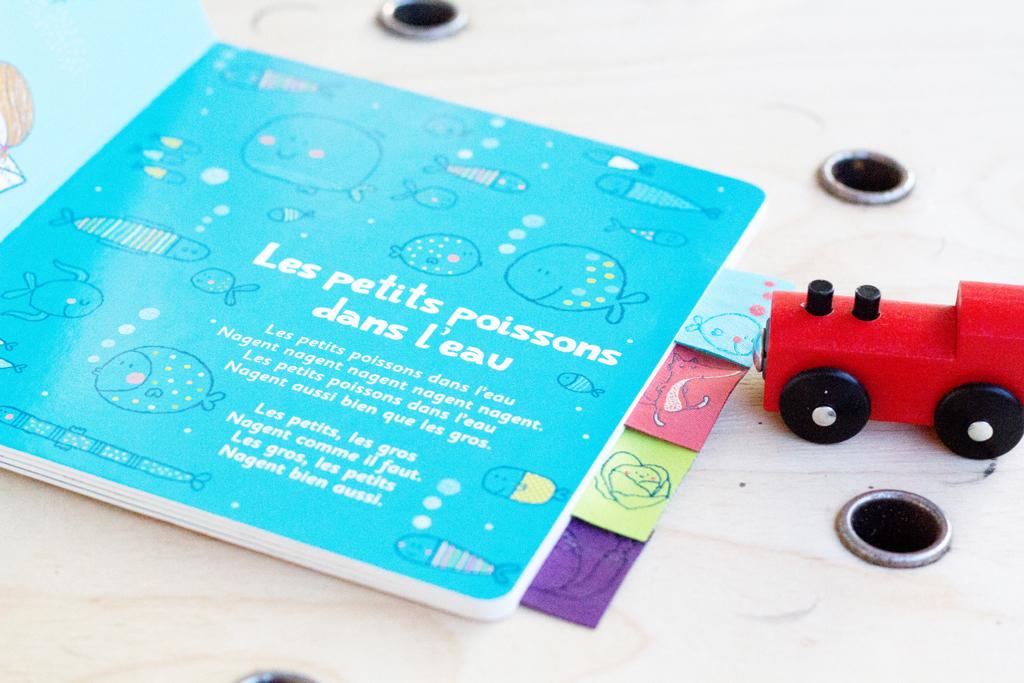 Chansonnettes- Livres musicaux pour les enfants