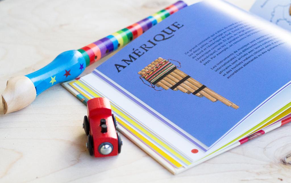 Les instruments de musique du monde expliqués aux enfants