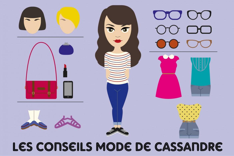 Les conseils mode de Cassandre