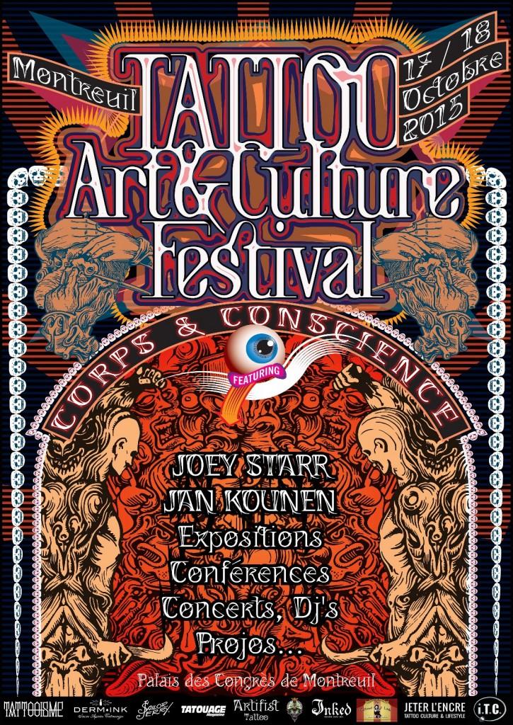 Affiche Tattoo Art et Culture Festival Montreuil_jpeg