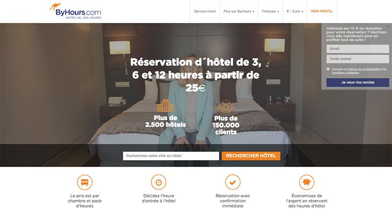 R server un h tel au forfait 3 6 ou 12h s jour for Reserver hotel et payer sur place
