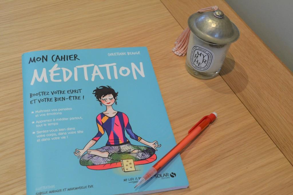 Mon cahier meditation